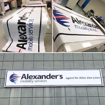 Digitally Printed Outdoor Signs