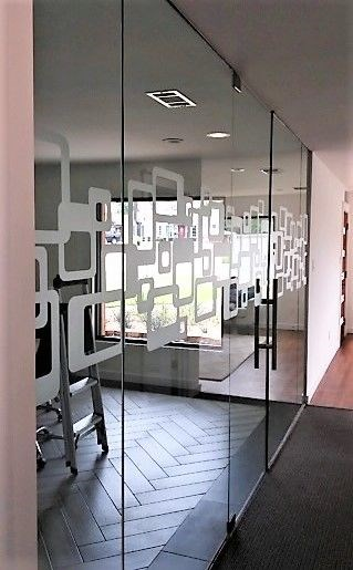Frosted/Privacy Vinyl on Conference Room Glass
